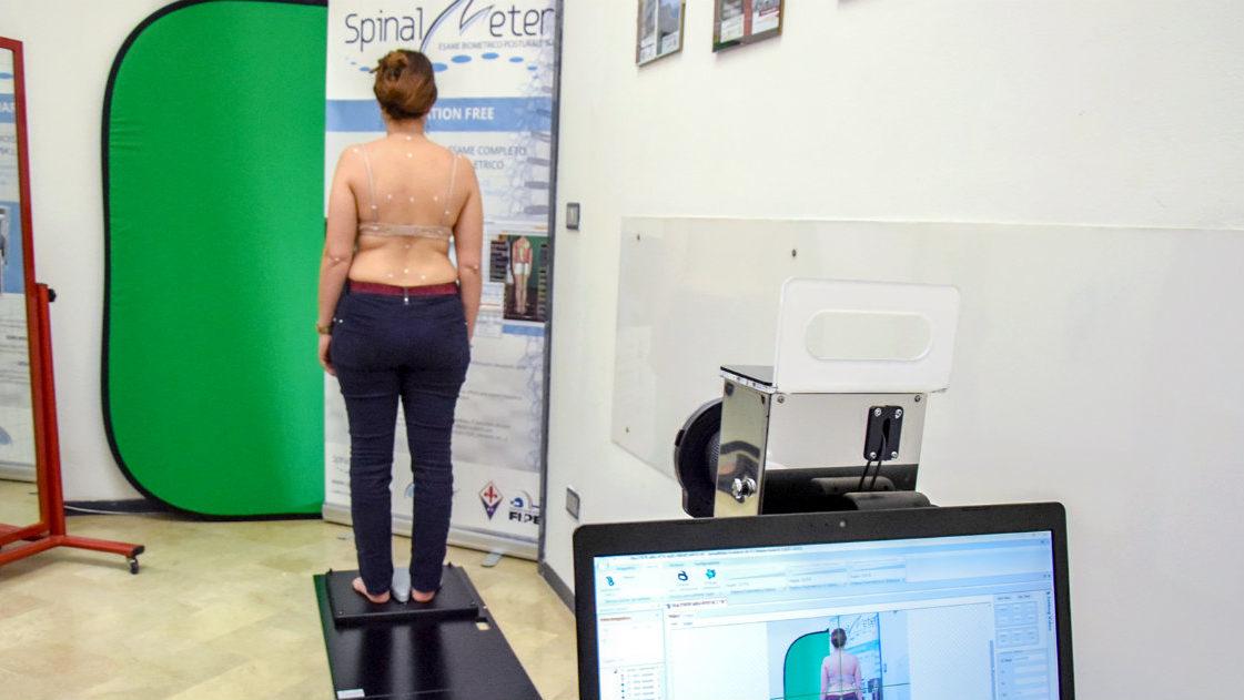 l'esame biomedico posturale 3d